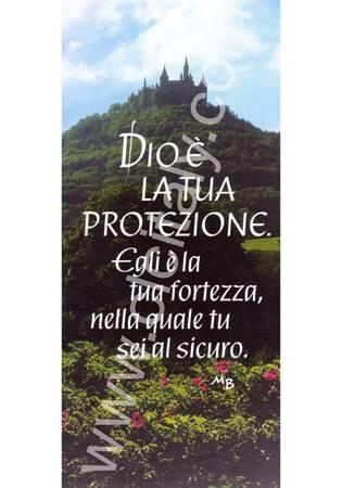 """12 Segnalibri """"Dio è la tua protezione"""""""