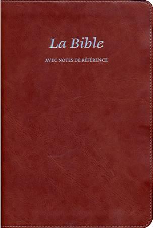 La Bible avec notes de références S21 - 12445 (SG12445) (Pelle)