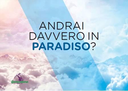 Andrai davvero in Paradiso? - 200 copie (Volantino)