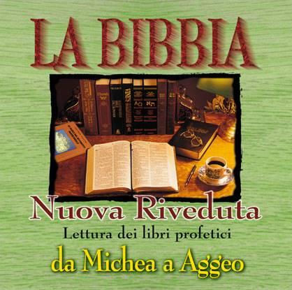 Lettura dei libri profetici da Michea a Aggeo [Audiolibri su CD]