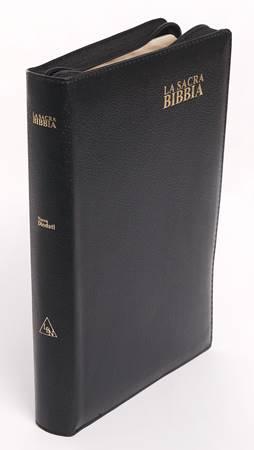Bibbia Nuova Diodati a caratteri grandi - Formato grande (171.243) (Pelle)