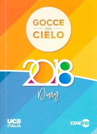 """Diario-Agenda 2018 """"Gocce dal cielo"""""""
