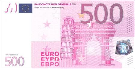 500 euro - Confezione da 100 opuscoli (Volantino)