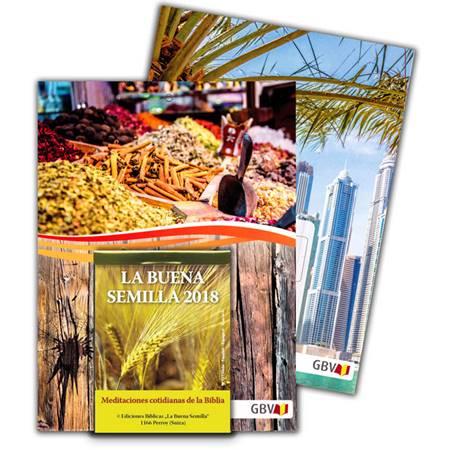 La Buena Semilla 2018 - Il Buon Seme in Spagnolo (Blocchetto da muro)