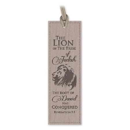 Segnalibro Lion (Similpelle)