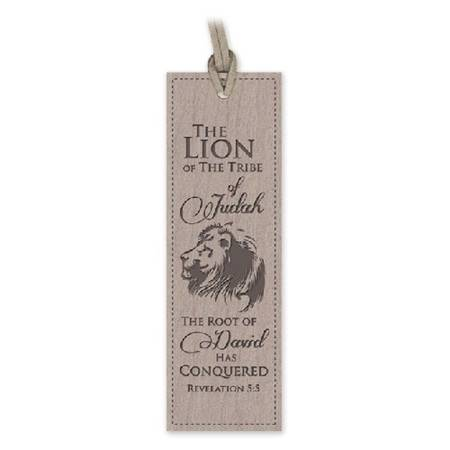 Segnalibro Lion (Similpelle) [Segnalibro]
