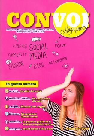 Rivista Con voi Magazine - Gennaio 2018 (Spillato)
