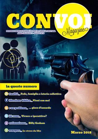 Rivista Con voi Magazine - Marzo 2018 (Spillato)