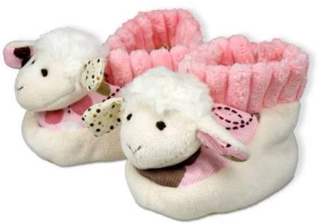 A1396 - Scarpette Pecorella Rosa [Abbigliamento]