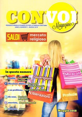 Rivista Con voi Magazine - Maggio 2018 (Spillato)