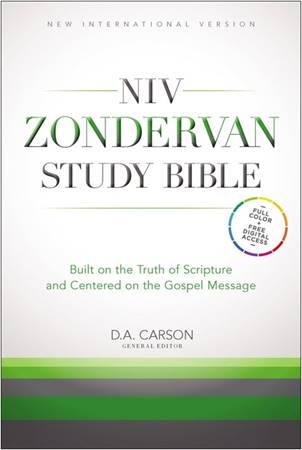 NIV Zondervan Study Bible (Copertina rigida)