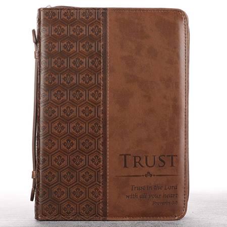 Copribibbia Trust Brown - Medium