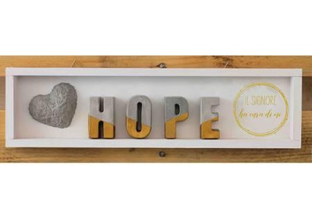Cubotto rettangolare Hope dorato