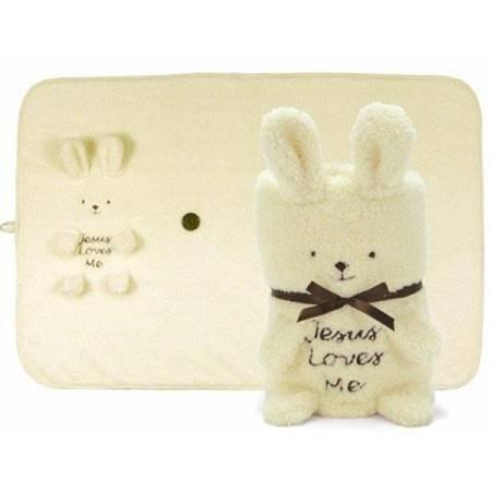 Copertina per bambini Bunny Jesus Loves Me