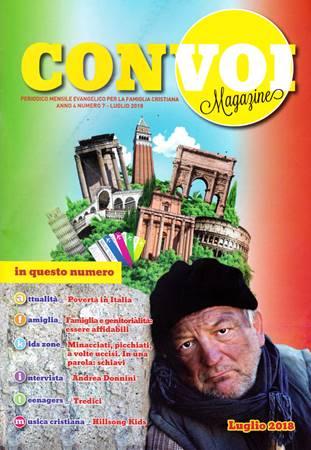 Rivista Con voi Magazine - Luglio 2018 (Spillato)