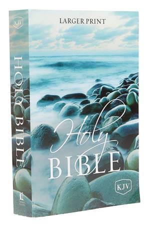 KJV Holy Bible Larger Print (Brossura)