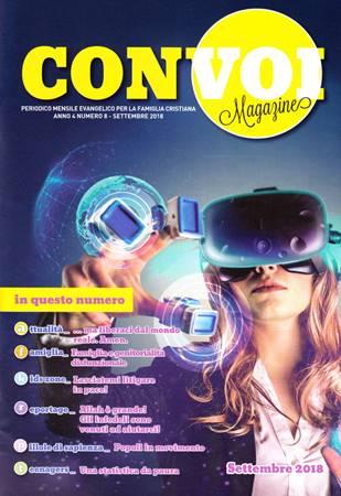 Rivista Con voi Magazine - Settembre 2018 (Spillato)