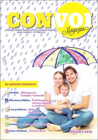 Rivista Con voi Magazine - Ottobre 2018 (Spillato)