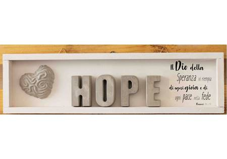 Cubotto rettangolare Hope grigio