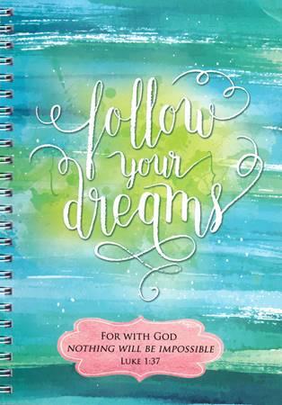 Quaderno Follow your dreams