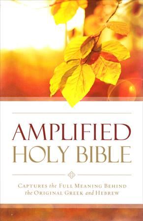 Amplified Outreach Bible (Brossura)