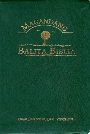 Bibbia in Tagalog TPV 035 GE (Local) - Colori vari (PVC)