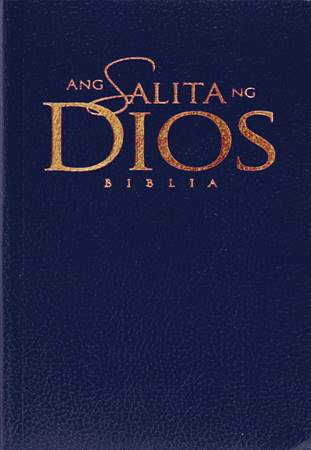 Bibbia in Tagalog ANG Salitang Diyos HB Blue (Copertina rigida)