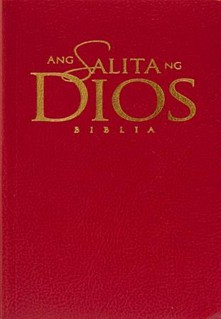 Bibbia in Tagalog ANG Salitang Diyos HB Burgundy (Copertina rigida)