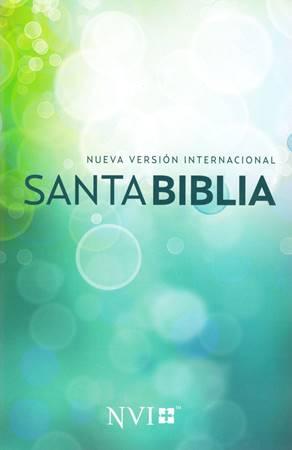 Biblia Misionera Verde Azul Círculos NVI (Brossura)