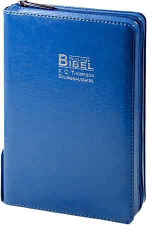 Bibbia Thompson in Tedesco - Blu (Similpelle)