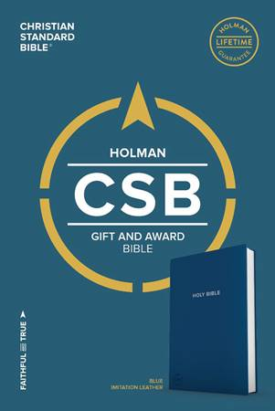 CSB Gift & Award Bible Blue (PVC)
