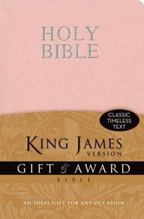 KJV Gift and Award Bible - Pink (Similpelle)