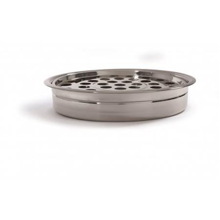 Vassoio impilabile per bicchierini - Colore argento
