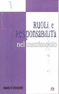 Ruoli e responsabilità nel matrimonio (Spillato)