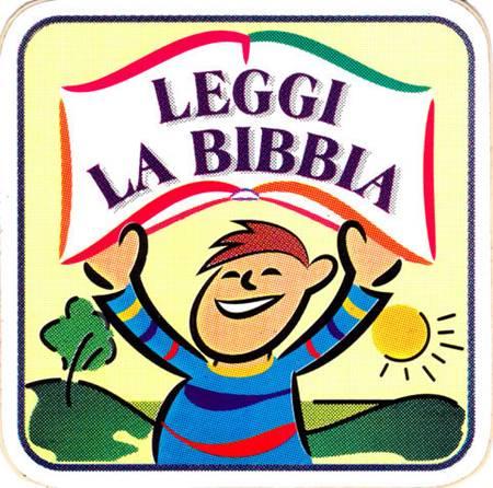Adesivo Leggi la Bibbia
