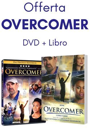 Offerta Overcomer (Brossura) [DVD+Libro]