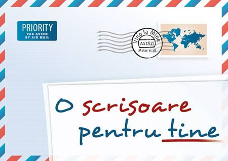 Una lettera per te in Rumeno - Opuscolo Evangelizzazione (Spillato)