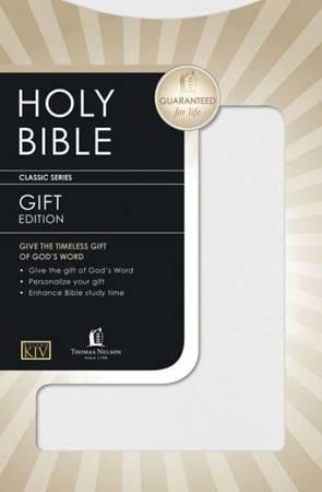 KJV Gift And Award Edition White (PVC)