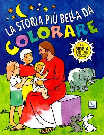 La storia più bella da colorare
