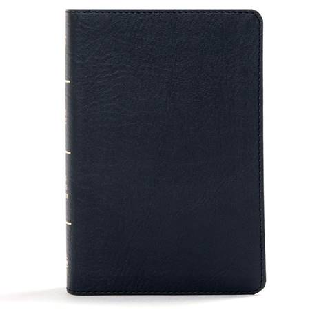 KJV Large Print Compact Reference Bible - Black (Similpelle)