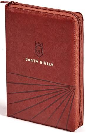 RVR 60 Biblia Letra Grande Marrón Líneas (Similpelle)