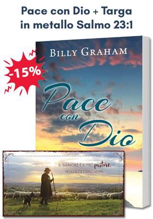 Pacchetto regalo Pace con Dio + Targa in metallo Salmo 23:1 (Brossura)