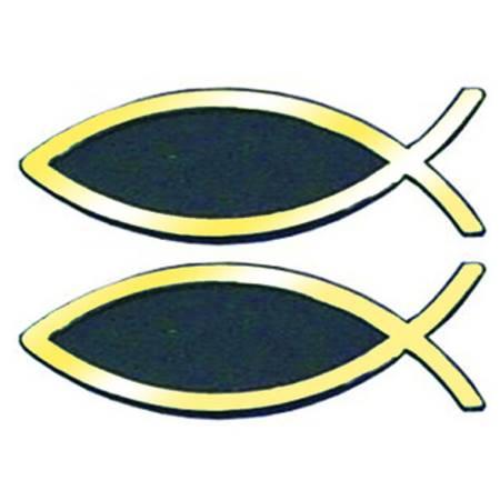 Adesivo Pesce dorato Piccolo - Set da 2