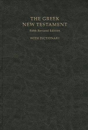 The Greek New Testament with dictionary (Rilegata Morbida)