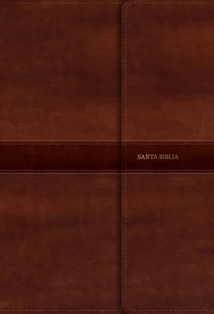 Santa Biblia RVR60 Letra gigante con Referencias - Marrón (Similpelle)
