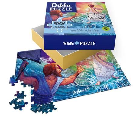 Puzzle Jesus walks on the water 500 pezzi (Scatola)