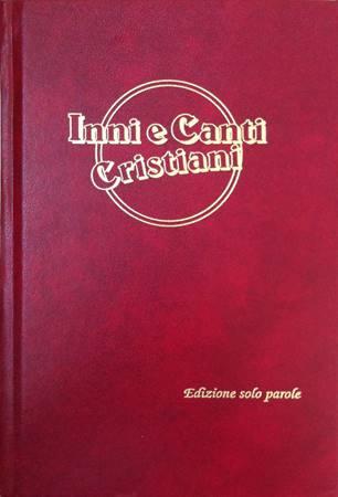 Inni e canti cristiani - solo testi Rosso (Copertina rigida)