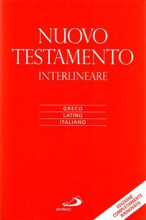 Nuovo testamento interlineare Greco Latino Italiano