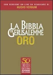 La Bibbia di Gerusalemme - Edizione Oro + DVD