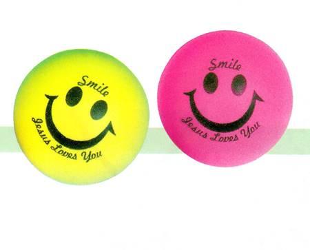 "A744 - Palla Soft ""Smile - Jesus loves you"